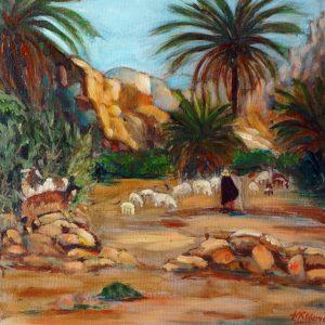 TAFRAOUTE SHEPHERD by Valerie Nerva