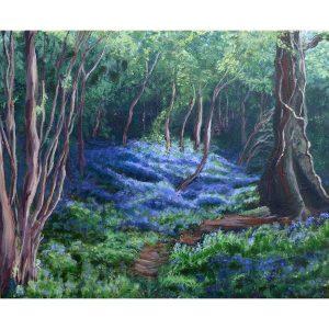 WHITSBURY BLUEBELLS Valerie Nerva