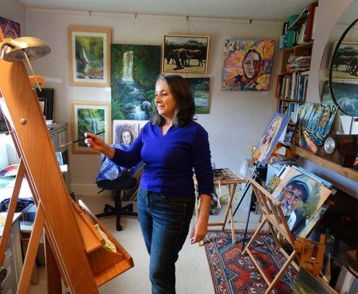 valerie Nerva, Artist, Painter