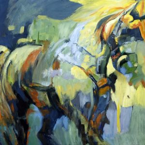 The Yellow Horse Valerie Nerva