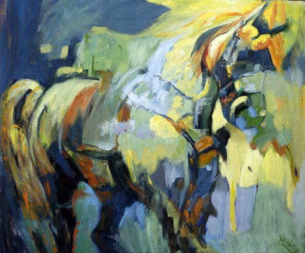 The Yellow Horse Valerie Nerva