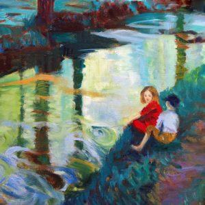 original painting by fine artist Valerie Nerva