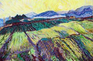 Wheatfields after Van Gogh Valerie Nerva