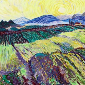 Wheatfields after Van Gogh Valerie Nerva